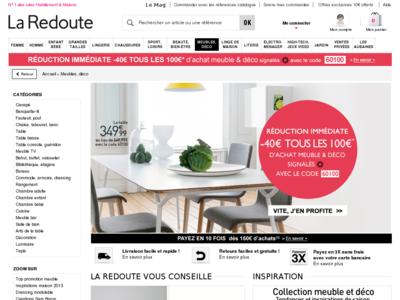 fdp gratuit la redoute 2013. Black Bedroom Furniture Sets. Home Design Ideas